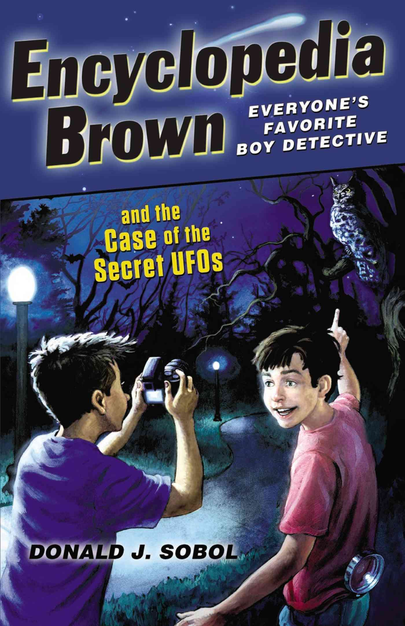 Encyclopedia Brown and the Case of the Secret Ufo By Sobol, Donald J.